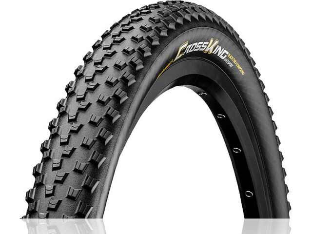 "Continental Cross King RaceSport Pneu souple 27.5x2.20"", black/amber"
